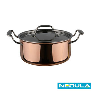 Copper stockpot